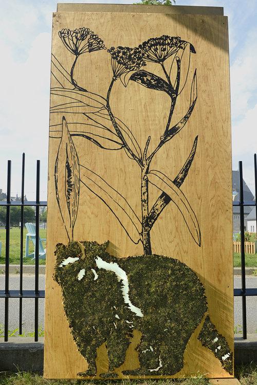 Edina Tokodi Moss Art