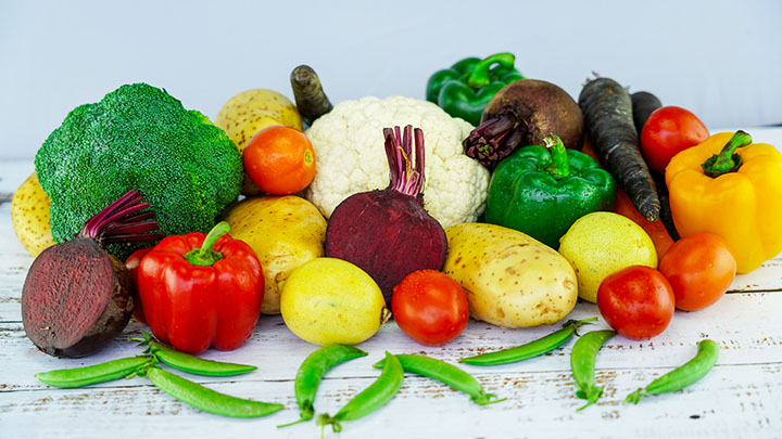 vegetables angiosperms plant group