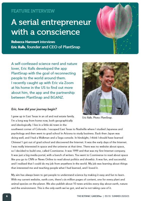 plantsnap botanic gardener